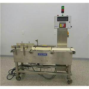 Mettler Toledo Micromate CM6500ss-MM Hi Speed Check Weigher System & Controller