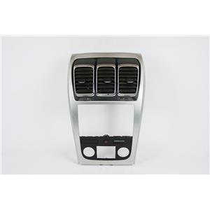 2007-2012 GMC Acadia Radio Climate Dash Trim Bezel w/ Vents & Hazard Switch
