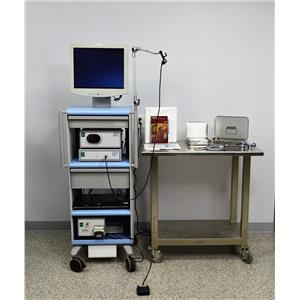 Boston Spyglass Endoscopy Cart Visualization System Monitor Pump Camera
