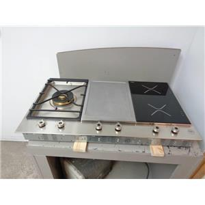 Bertazzoni PM361IGX 36 Inch Segmented Gas/Induction Cooktop