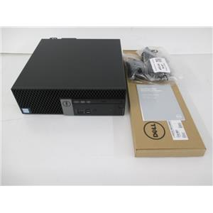 Dell 9PR6V OptiPlex 5050 SFF Quad Core i7-7700 3.6GHz 8GB 500GB HDD W10P64