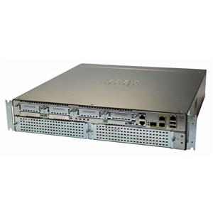 Cisco2921-V/K9 3 Port Voice Bundle & Datak9 License Gig 1 SFP Router 512MB/256MB