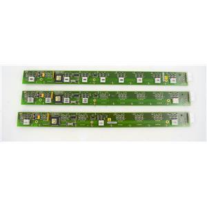Lot of 3 PCB Reagent Rack Indicator Board f/Roche COBAS AmpliPrep Sample Prep
