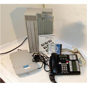 NORTEL NORSTAR COPMACT ICS WITH 7316E PHONE SYSTEM