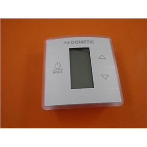 Dometic 3316250000 Polar White Single Zone LCD Cool Furnace Heat Pump Thermostat