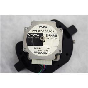 Vexta PV267D2.8BAC3 1.8º 2-Phase 3.4 VDC Stepper Motor for Ventana Discovery XT