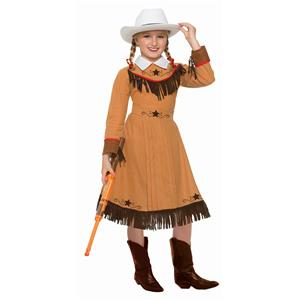 Western Texas Rosie Cowgirl Child Costume Small 4-6
