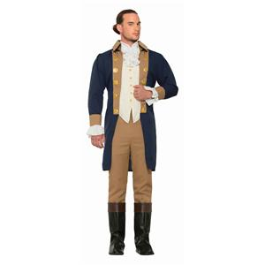 Colonial Officer Adult Historic Costume Standard