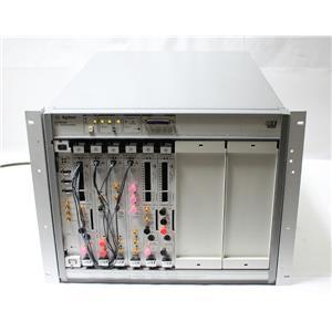 HP/Agilent E8403A VXI Mainframe w E8491B Firewire 3x E4805B Clock 3x E4861A Data