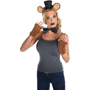 Rubie's Costume Co. Five Nights Freddy Costume Kit Headpiece Bowtie Mitts