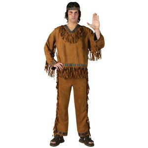Fun World Men's Native American Adult Costume Indian Thanksgiving