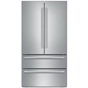 "Bosch 36"" Counter Depth French Door Stainless Refrigerator B21CL81SNS Excellent"