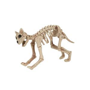 Skeleton Pet Bones Cat Halloween Prop