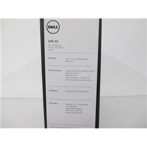 "DELL 0NK7T XPS 9560 FHD 15.6"" QC i5-7300HQ 2.5GHz 8GB 32GB SSD - 1TB HDD W10P64"
