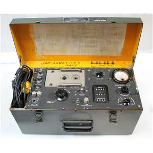 Tachometer Indicator-Generator Test Set TTU-27/E Aircraft Instruments