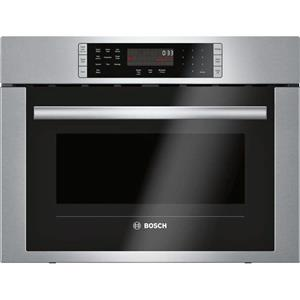 """Bosch 500 24"""" 1.6 cu. ft.1000 Watts LCD Convection SS Speed Oven HMC54151UC (price)"""