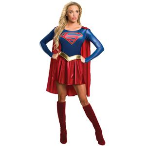 Women's Supergirl Tv Show Costume Dress Adult Small 2-6