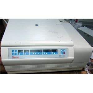 THERMO SCIENTIFIC SORVALL LEGEND RT+, 75006434 CENTRIFUGE
