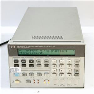 HP/Agilent 8904A DC-600kHz Multifunction Synthesizer / Generator OPT 001 002 004