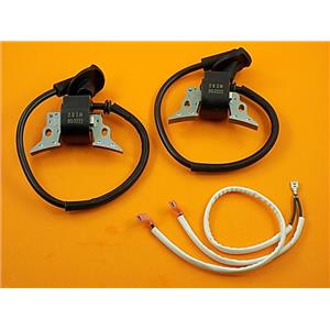 Generac 760cc Coil Kit (2) 0G3222 Ignition Coils & (1) 0F1177 Grounding Wire