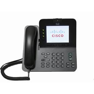 Cisco CP-8945-K9 Unified 4-Line 8945 PoE VoIP Video Phone Bluetooth SCCP/SIP