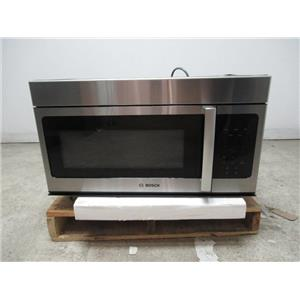 "Bosch 300 Series 30"" 300 CFM LCD Display Over-the-Range Microwave Oven HMV3053U (CHECK)"