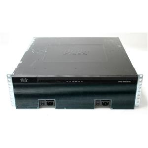 Cisco 3900 Series Integrated Services Router 3925 w/ C3900-SPE100/K9 IPbase Data