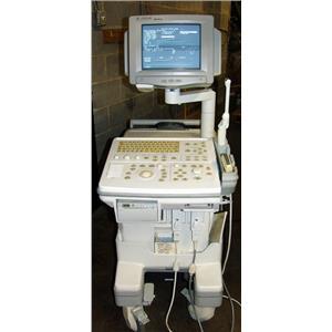 GE LOGIQ 400 ULTRASOUND MACHINE
