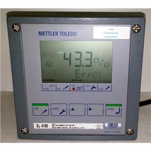 METTLER TOLEDO O2 4100 OXYGEN TRANSMITTER