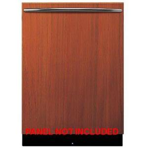 "Viking FDW301WS 24"" 6 Wash Cycles Fully Integrated Dishwasher Custom Panel"