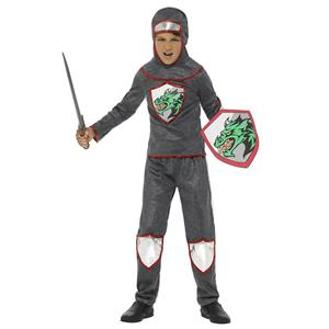 Smiffy's Deluxe Knight Child Costume Boy's Size Small 4-6