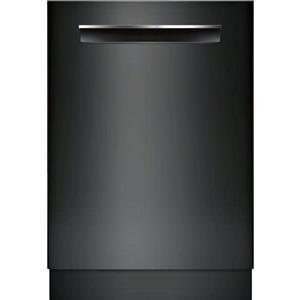 "Bosch 500 Series 24"" 44 dBA EasyGlide Fully Integrated Blk Dishwasher SHP865WD6N"