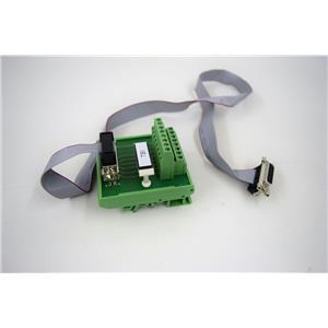 Phoenix Terminal Block Interface Module FLKM-D15 Sub/B Amersham System