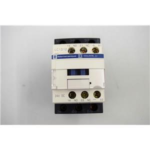 Telemecanique LC1D12BD Contactor- Motor Control Application 24 VDC- 25A- 600VAC
