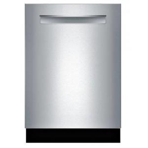 """Bosch 24"""" 39 dBA 6 Cycles Touch Control Stainless Dishwasher SHPM98W75N"""