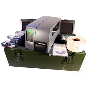 Intermec PM4I PM4G411000300220 Network Printer Rugged Military Army Transit Case