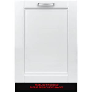 "Bosch Benchmark Series 24"" Speed 60 39 dBA Integrated Dishwasher SHV89PW73N EXLT"