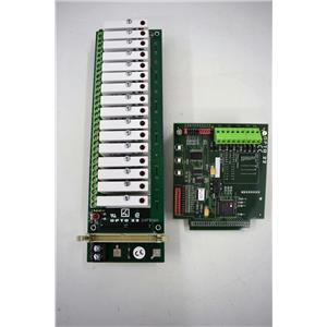Opto 22 G4PB16H (16)G4 IDC5 Modules w/Opto 22 B1 f/Amersham BioProcessing System