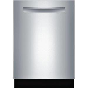 """Bosch Benchmark Series 24"""" TimeLight 40dBA Integrated SS Dishwasher SHP88PW55N"""