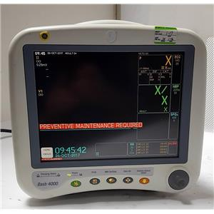 GE DASH 4000, DASH 3000 PATINET MONITOR