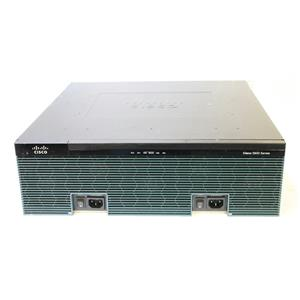 Cisco 3900 Series Integrated Services Router 3925 w/ C3900-SPE200/K9 IPbase