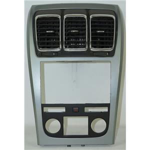 2007-2012 GMC Acadia Radio Automatic Climate Dash Trim Bezel w/ Vents & Hazard