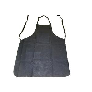 Black Cotton Canvas Apron 25 X 34 2 Pockets Woodworking
