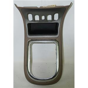 2006-2011 Chevrolet HHR Shift Floor Trim Bezel for Auto w/ Chrome Trim & Mat