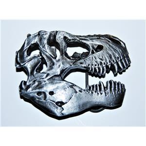 Tyrannosaurus Rex Dinosaur Skull Metal Belt Buckle For Fossil Lover!! #10440 4o
