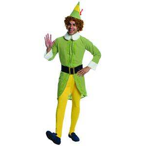 Buddy the Elf Movie Deluxe Adult Christmas Costume Size XL