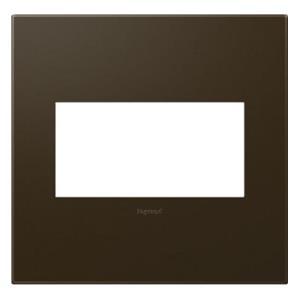 Legrand AWP2GBR4 AWP2GBR10 adorne Bronze 2-Gang Wall Plate