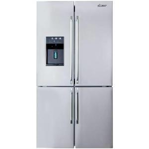 """Dacor Distinctive 36"""" 4 Door 23.4 cu. ft French Door Refrigerator DTF364SIWS (5)"""