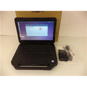 Dell CTO Latitude 5414 Rugged i5-6300U 2.4GHZ 8GB 500GB Unbuntu Linux 14.04 SP1
