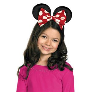 Minnie Mouse Bowtique Child Kit Ears and Bow Headband